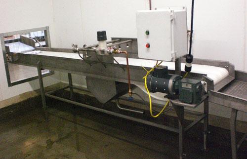 Spray Amp Wash Conveyor